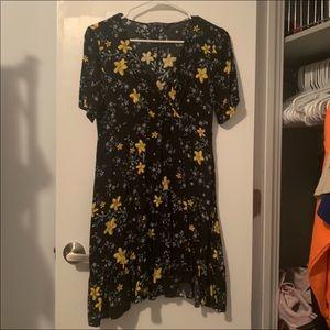 Zara Flowered Dress
